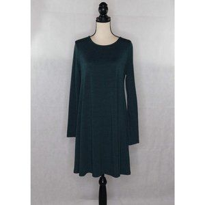 Old Navy Midi Dress Green Size Large